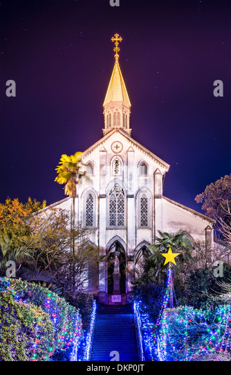 Oura Roman Catholic Church in Nagasaki, Japan. - Stock-Bilder