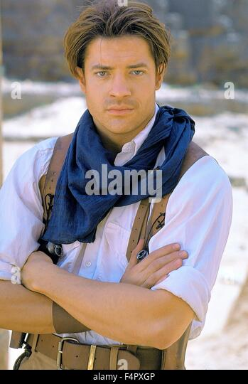 Young Brendan Fraser The Mummy The Mummy 1999 Stock P...