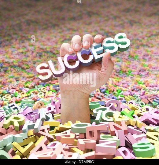 Success, artwork - Stock-Bilder