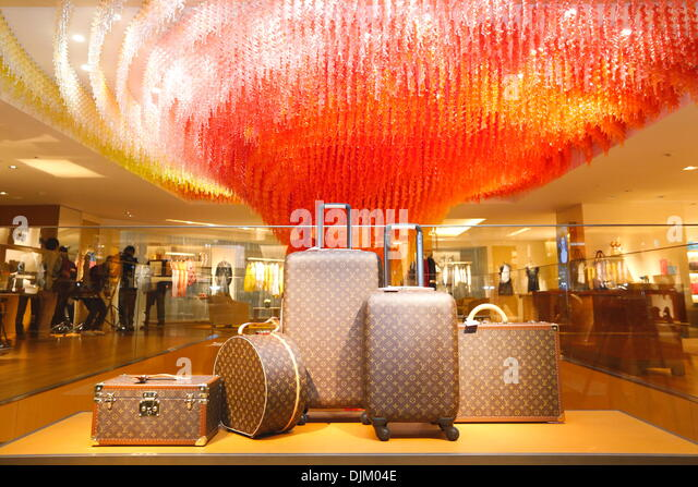 Tokyo, Japan. 28th Nov, 2013. Louis Vuitton store, Nov 28, 2013 : Open ceremony for 'LOUIS VUITTON ' store - Stock Image