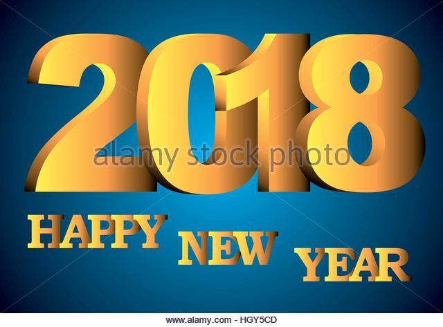 Happy New Year 2018 Stock Photos Amp Happy New Year 2018