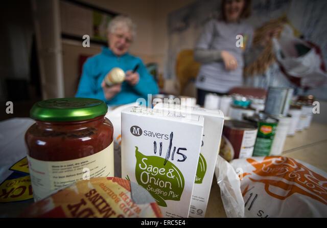 Food Bank Volunteer Belfast