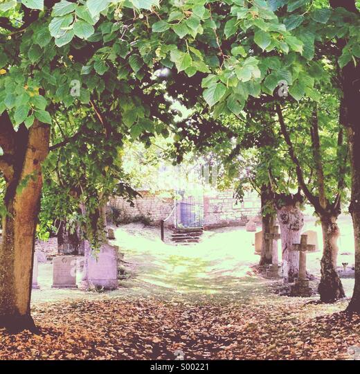 Graveyard - Stock Image