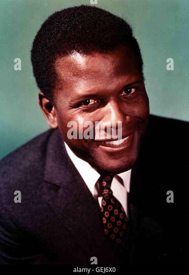 Sidney Poitier *** Local Caption *** 0, Poitier, Sidney, Sidney Poitier - Stock Image