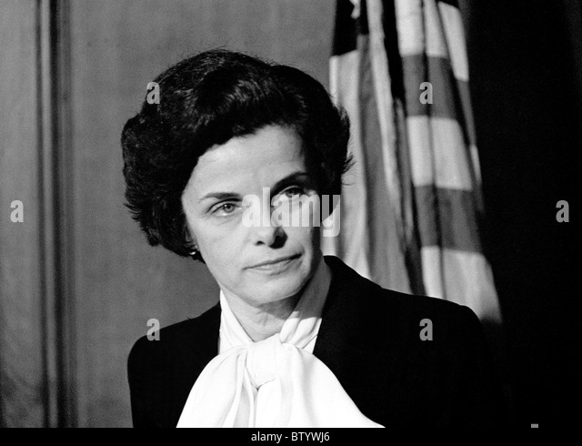 Dianne Feinstein appointed Mayor after Mayor Moscone assassination, San Francisco, California. 12/04/1978 - Stock Image