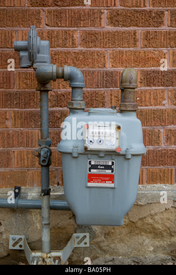 Inside A Gas Meter : Gas meter stock photos images alamy