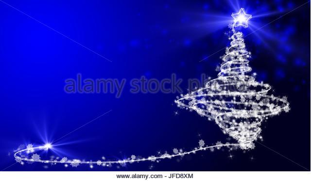 Xmas Tree - Stock Image