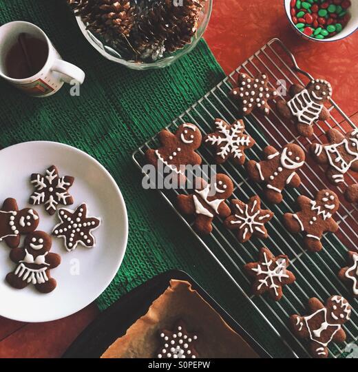 Christmas Cookies - Stock Image
