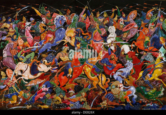 The Battle, 1932-1933. - Stock Image
