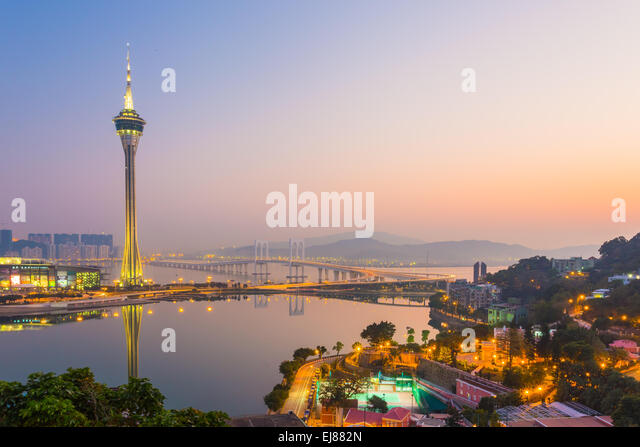 Macau Tower , China - Stock Image