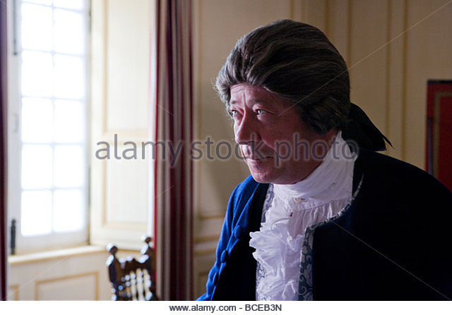Portrait of the French military aristocracy (actor. - Stock Image