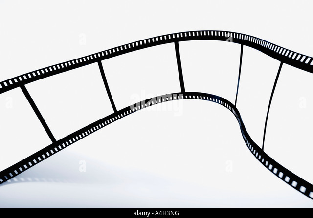 Empty film strip - Stock-Bilder