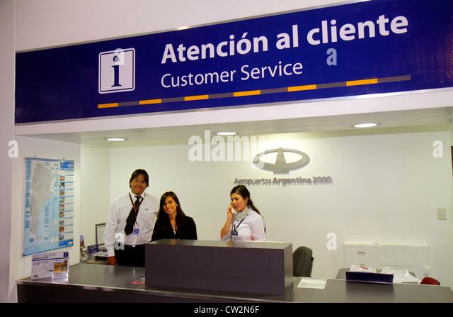 Argentina Mendoza Aeropuerto Internacional Gobernador Francisco Gabrielli y El Plumerillo MDZ International Airport - Stock Image