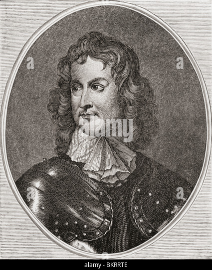 General John Lambert, 1619 to 1684. English politician and parliamentary general in the English Civil War. - Stock Image