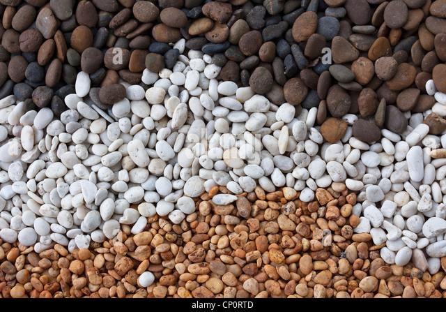 Background of stones that ornamental garden - Stock-Bilder