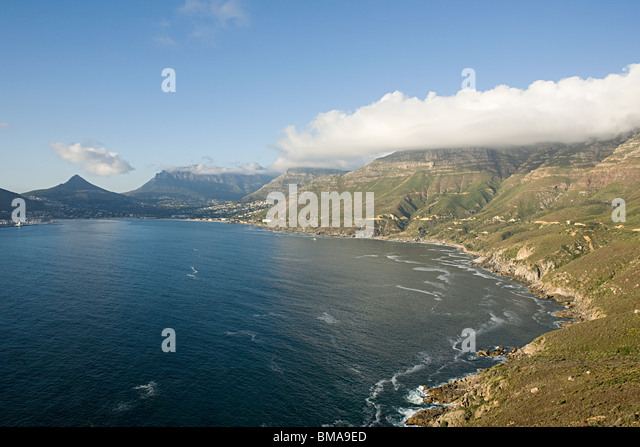 Cape town coast - Stock Image