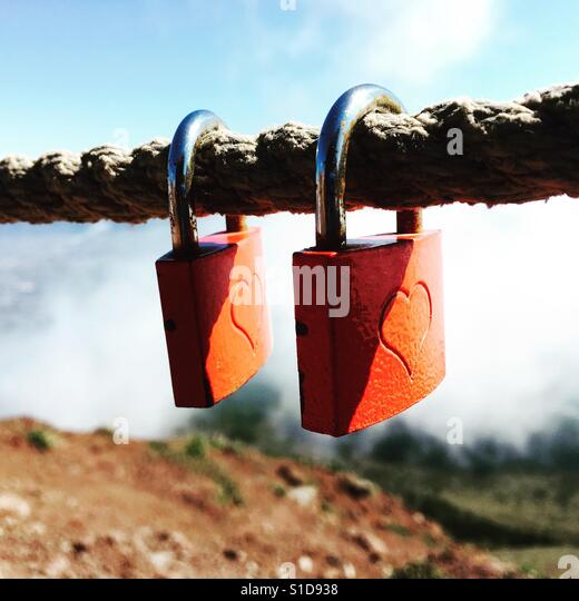 Locks of love - Stock-Bilder