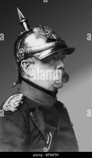 OTTO VON BISMARCK CHANCELLOR OF GERMANY 1870-90 01 May 1875 - Stock Image