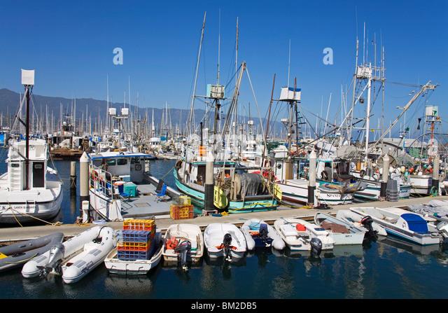 Fishing ports stock photos fishing ports stock images for Santa barbara fishing