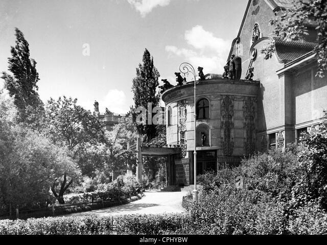 The House of Arts in Brno, 1940 - Stock-Bilder