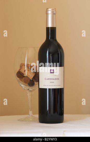 mas amiel, carerades. Roussillon, France - Stock Image