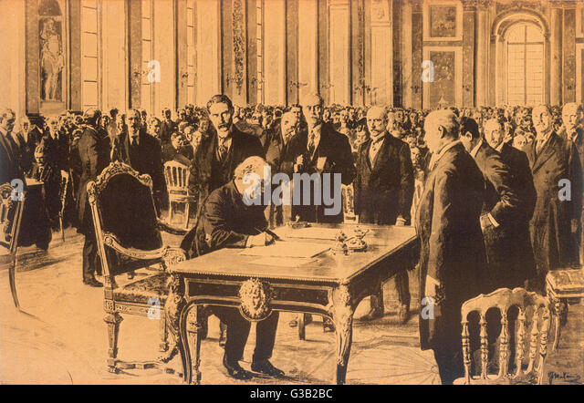 treaty of versailles signed by great 2018-6-16 get an answer for 'why did the treaty of versailles cause problems in the future' and find homework help for other history questions at enotes.