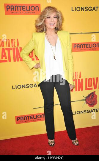 Los Angeles, CA, USA. 26th Apr, 2017. Raquel Welch at arrivals for HOW TO BE A LATIN LOVER Premiere, ArcLight Hollywood - Stock Image