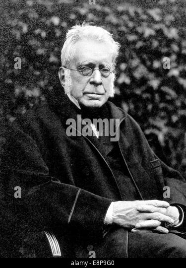 GEORGE AIRY (1801-1892) English astronomer and mathematician in 1891 - Stock-Bilder