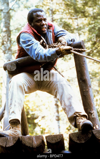 SIDNEY POITIER SHOOT TO KILL (1988) - Stock Image