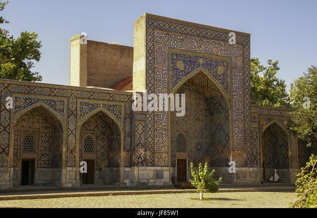 Old-town of Samarqand, Uzbekistan - Stock Image