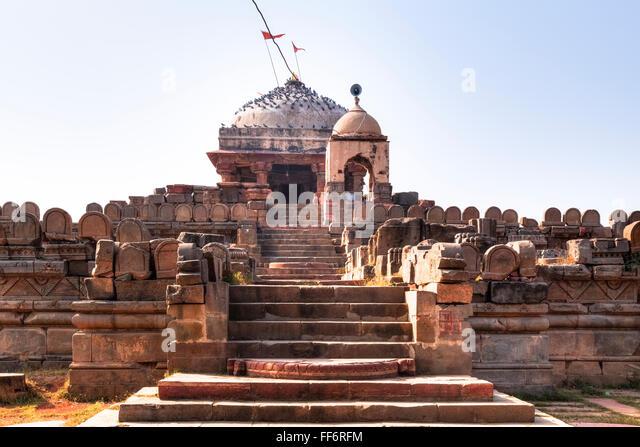 Harshat Mata Temple. Abhaneri, Dausa, Rajasthan, India - Stock-Bilder