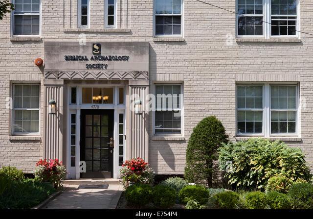 Biblical Archaeology Society - Washington, DC USA - Stock Image
