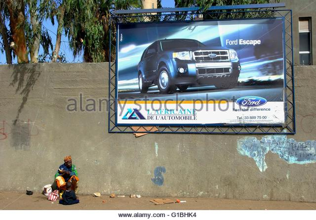 Senegal, Dakar - Stock Image