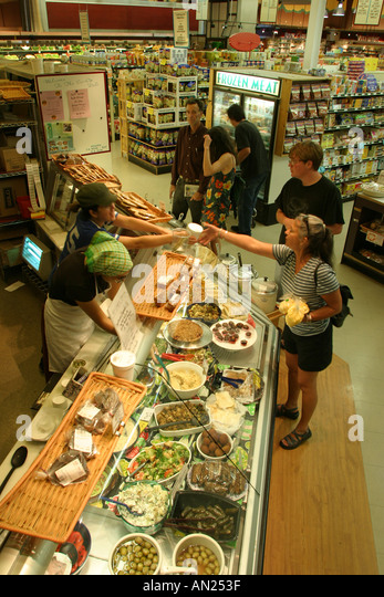 Albuquerque New Mexico Knob Hill Center La Montanita Co op Natural Foods Market W - Stock Image