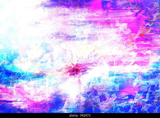 Abstract Art Mixed Media Grunge Stock Photo: Desert Paint Brush Stock Photos & Desert Paint Brush Stock