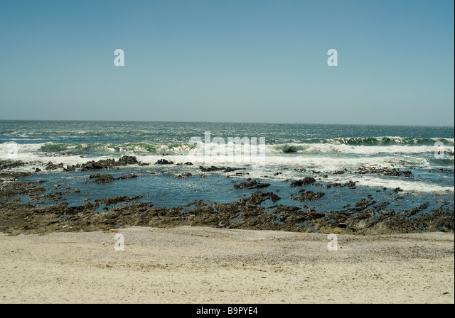 View from Sea Point, Cape Town, South Africa - Stock Image