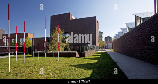 LWL Museum of Archaeology, Herne, Germany - Stock Image