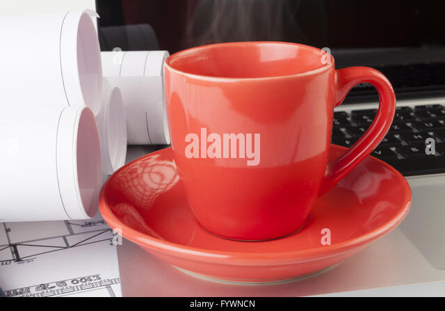 Steaming Coffee - Stock Image