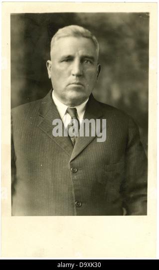 Albert Sidney Parham. - Stock Image