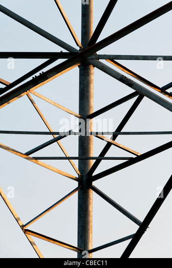 Indian telecommunications tower abstract. India - Stock Image