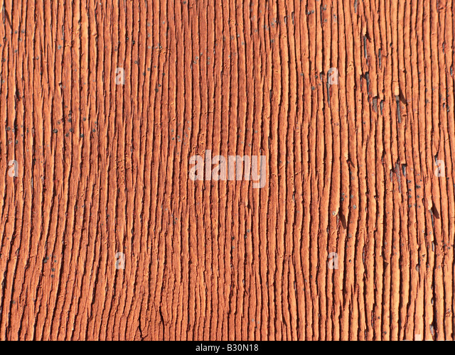 Abstract background close up surface texture red - Stock Image