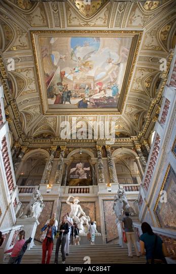 Vienna National History Museum - Stock Image