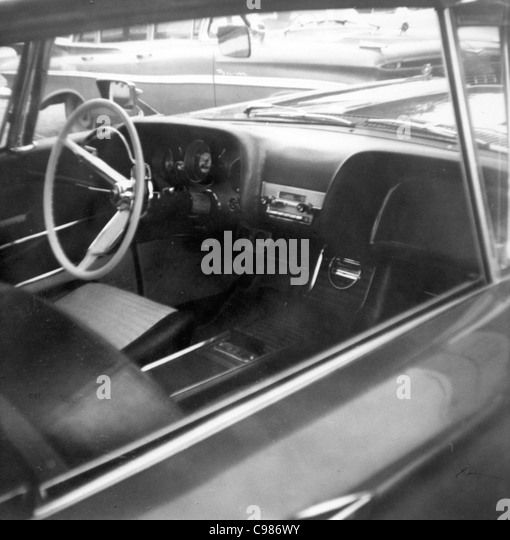 1950s Car Black And White Stock Photos 1950s Car Black And White Stock Images Alamy