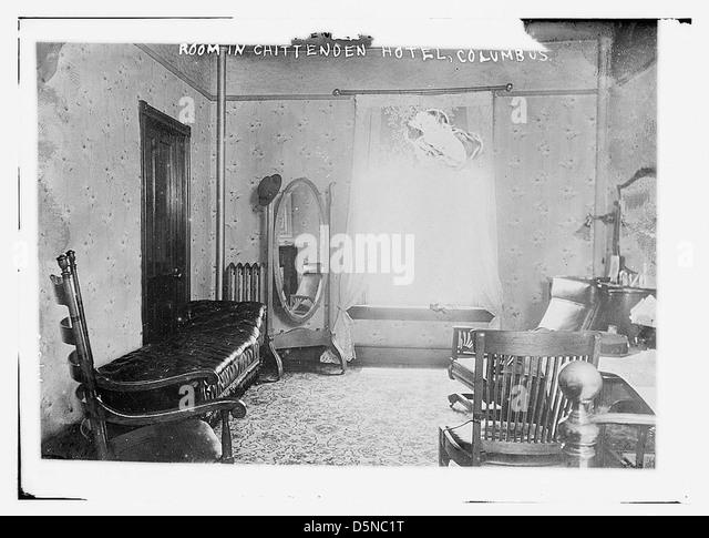 Room in Chittenden Hotel, Columbus (LOC) - Stock Image