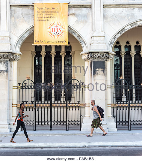 Popularly known as Reina Church, the Parish of the Sacred Heart of Jesus and St. Ignatius of Loyola is one of the - Stock-Bilder