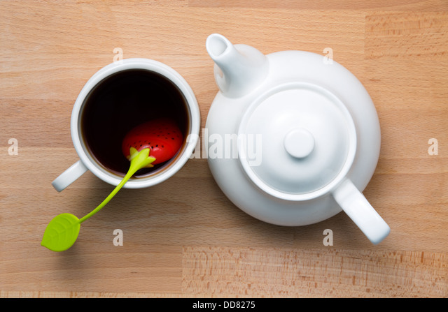 how to make tea in a teapot with strainer