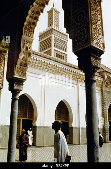 Dakar Senegal Mosque - Stock Image