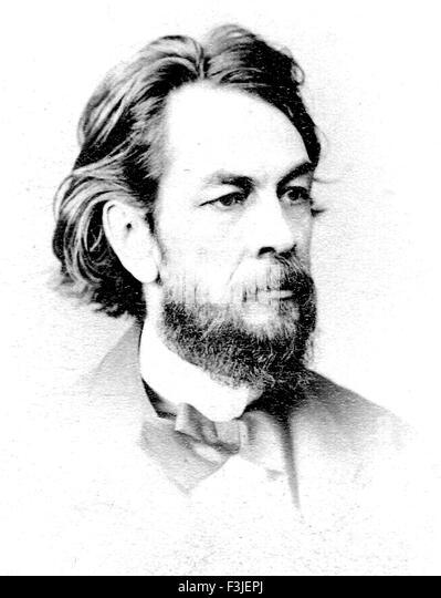 GEORGE BISSELL (1821-1884)  American oil industry pioneer - Stock-Bilder