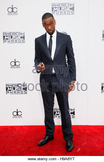 Comedian and host of the American Music Awards Jay Pharoah arrives at the 2016 American Music Awards in Los Angeles, - Stock-Bilder