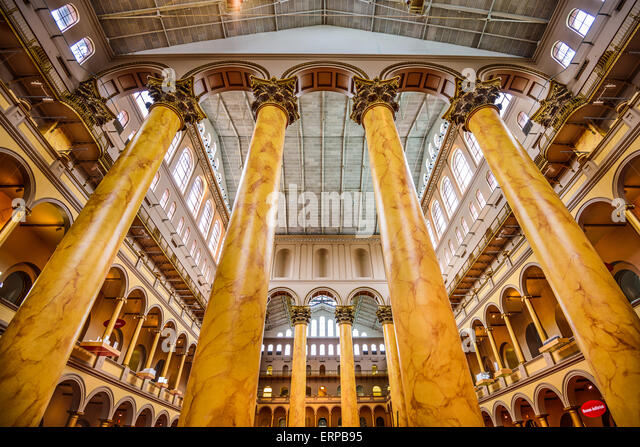 Foyer Museum Washington Dc : National building museum washington dc stock photos